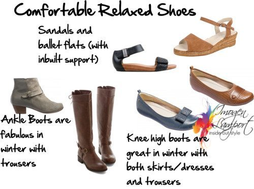comfortable relaxed shoes