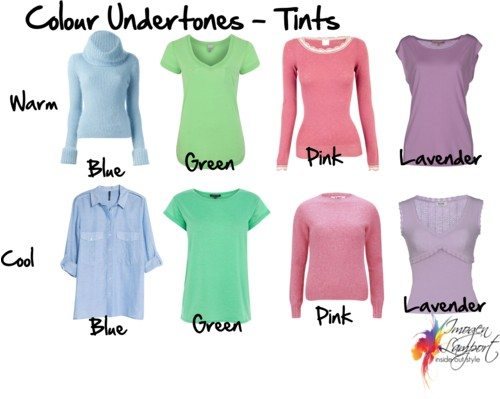 Colour Undertones - Tints