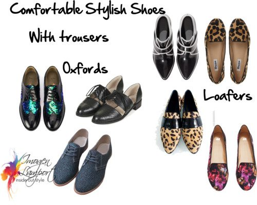 How to Combine Comfortable Shoes with Your Dressier Outfits