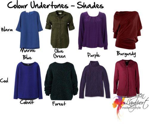 Colour Undertones - Shades
