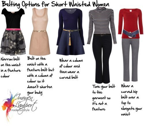 How to Solve the Belting Dilemmas for Short Waisted Women