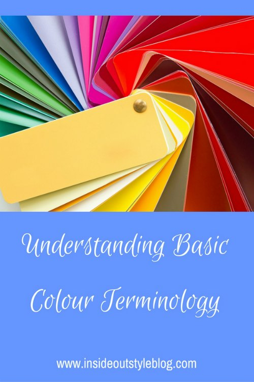 Colour terminology basics - understanding colour and personal colour analysis