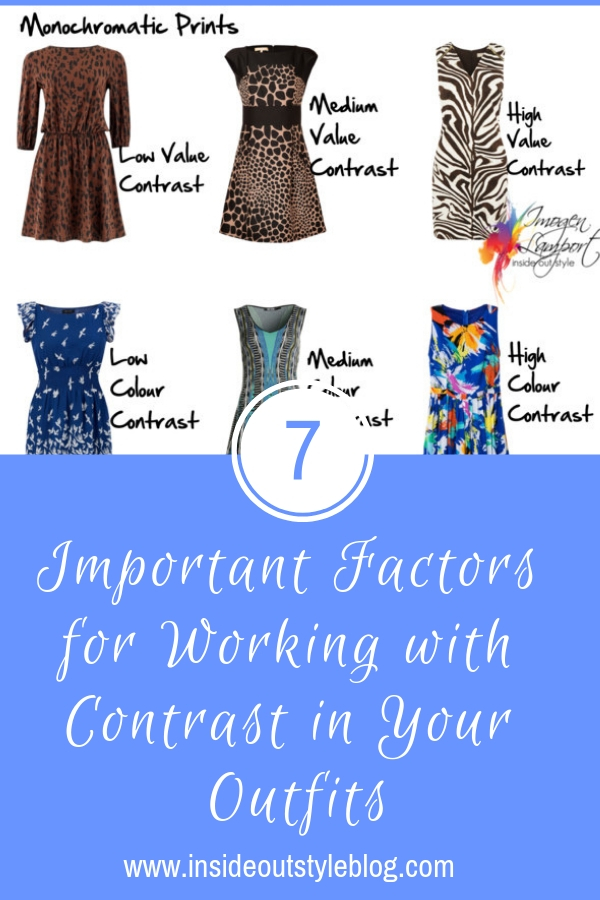 7 Important Factors for Working with Contrast in Your Outfits