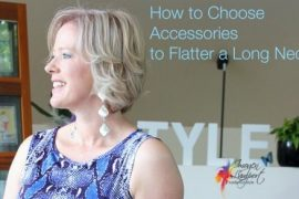 accessories to flatter a long neck