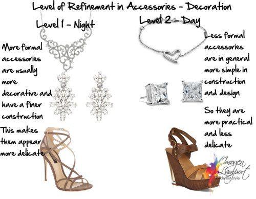 Level of Refinement Accessories Decoration
