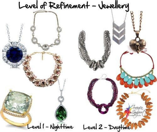 level of refinement jewellery