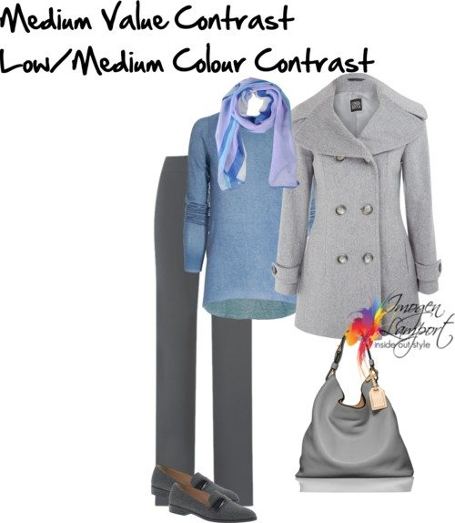 medium value low medium colour contrast