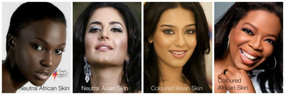 coloured darker skins