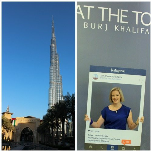 The tallest building in the world Burj Khalifa