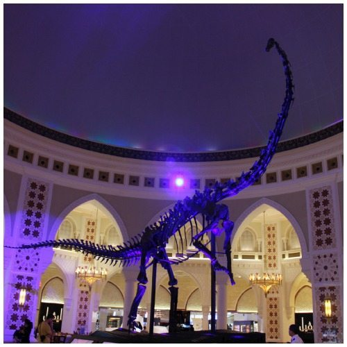 A read Diplodocus Longus skeleton