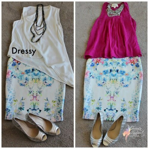 Dressy Floral Skirt