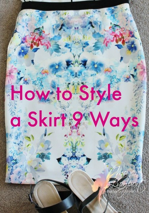 One Skirt Styled 9 Ways and Some Packing Tips