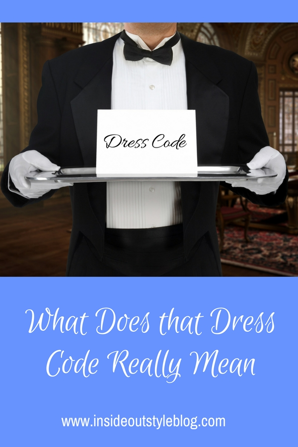 What Does that Dress Code Really Mean