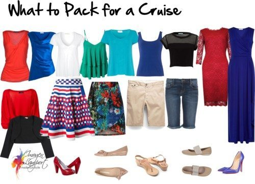 How to Pack a Wardrobe Capsule for a Cruise