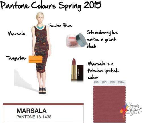 pantone marsala spring 2015