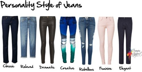 Jeans personality style