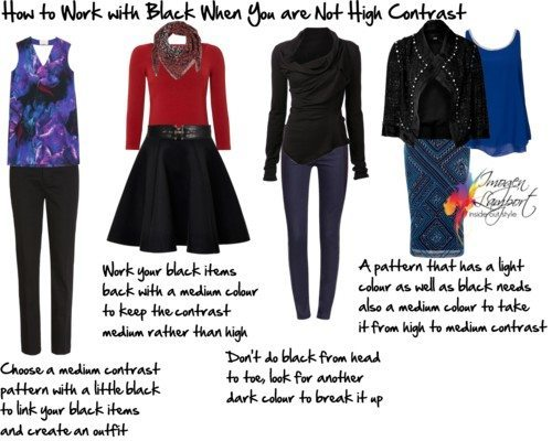 Working with Your Existing Wardrobe: The Black Dilemma