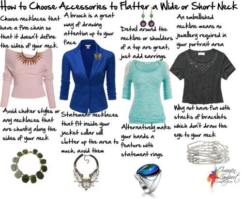 How to Choose Accessories for a Short Neck