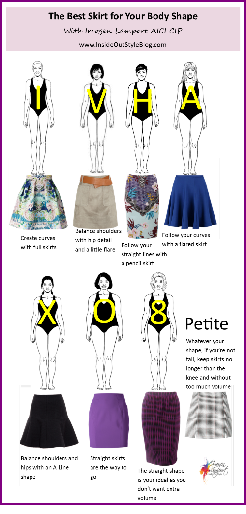 The Best Skirt For Your Body Shape