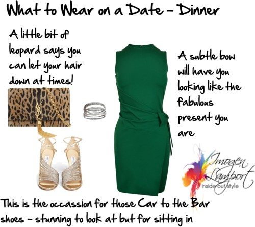 What to wear on a date - dinner