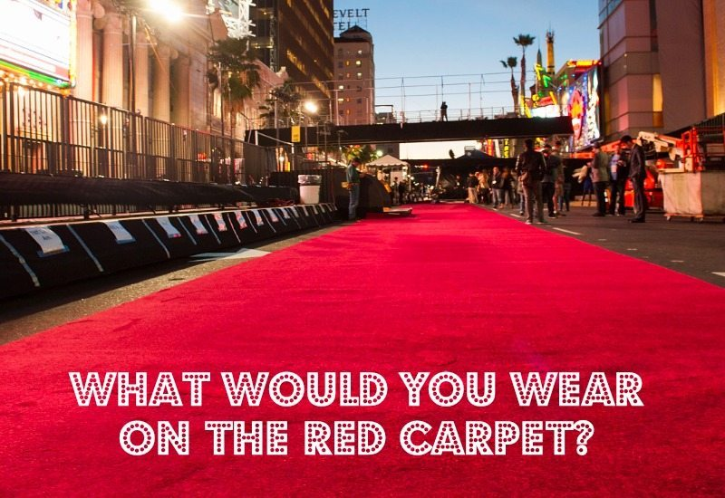 what would you wear on the red carpet
