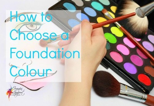 how to choose a foundation colour