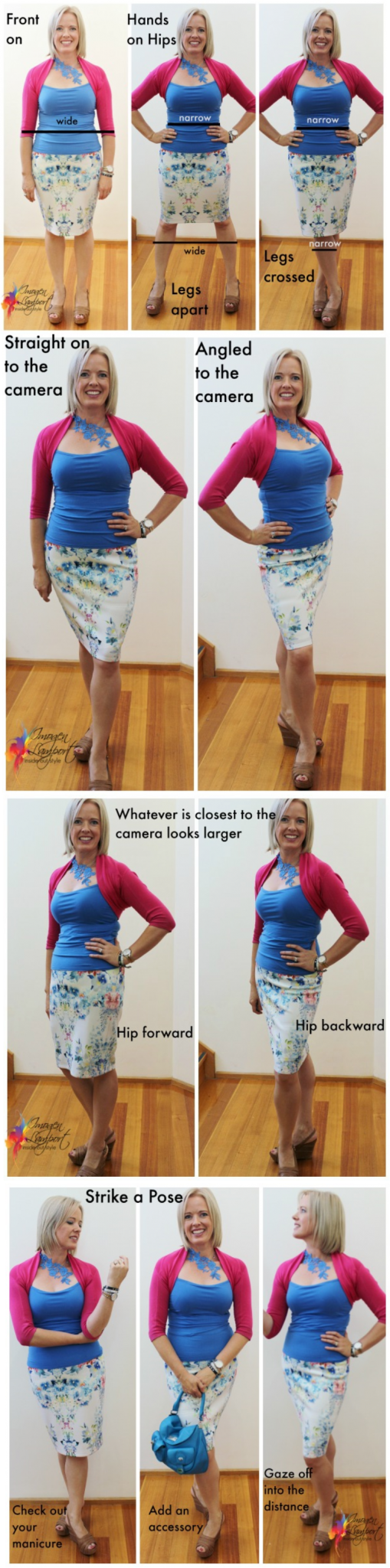 how to look slimmer in a selfie
