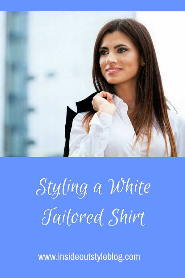 Styling a White Tailored Shirt