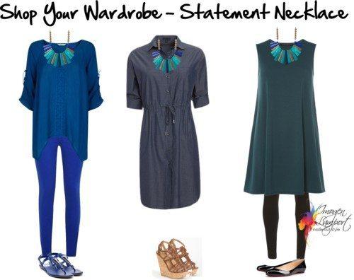 shop your wardrobe statement necklace