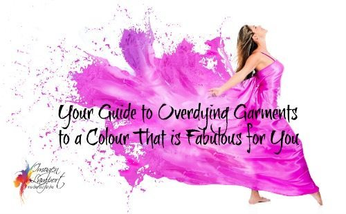 how to overdye and dye garments
