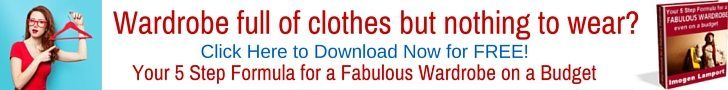 Wardrobe full of clothes but nothing to wear- grab your free ebook Your 5 Step Formula for a Fabulous Wardrobe on a Budget