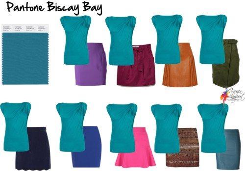Pantone Biscay Bay