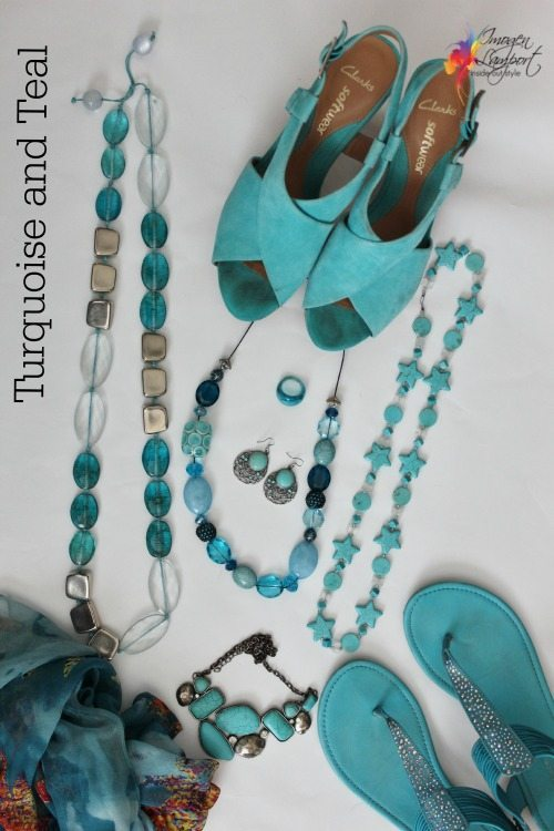 turquoise and teal bundle
