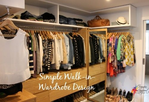 Simple Walk In Wardrobe Design