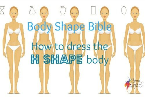 H Body Shape How to Dress
