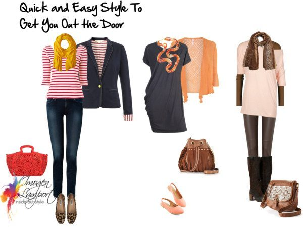 quick and easy style to get you out the door