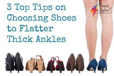 how to flatter thick ankles