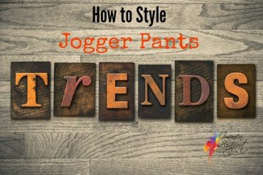 how to style jogger pants
