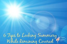 how to look summery while remaining covered