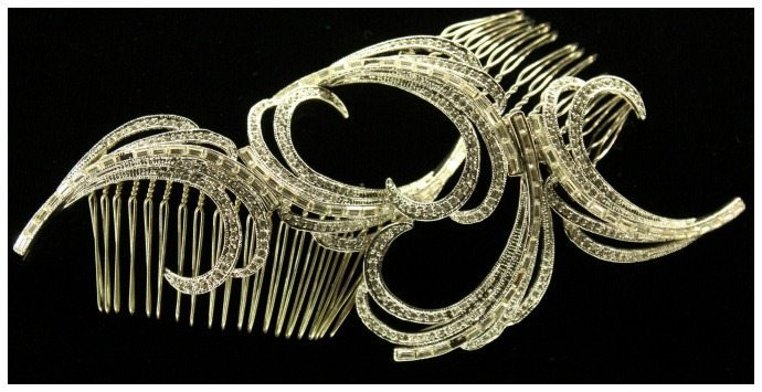 1920s style hair comb used in Miss Fisher Murder Mystery