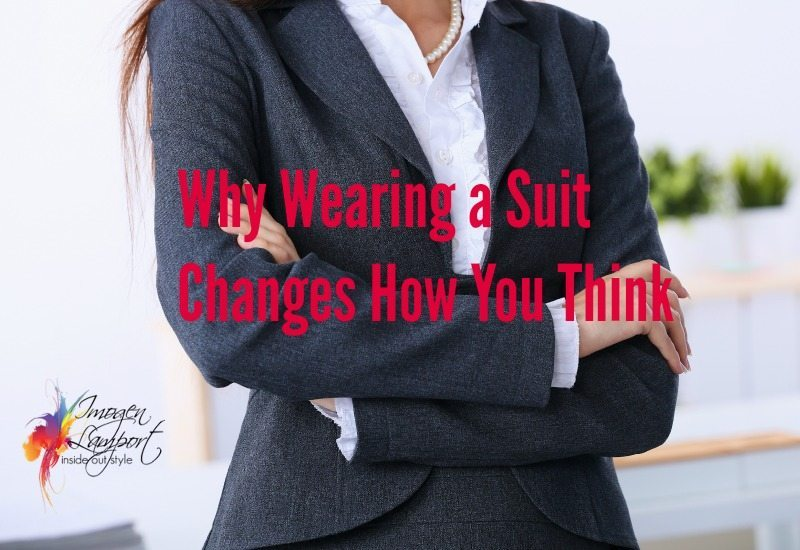 wearing a suit changes how you think