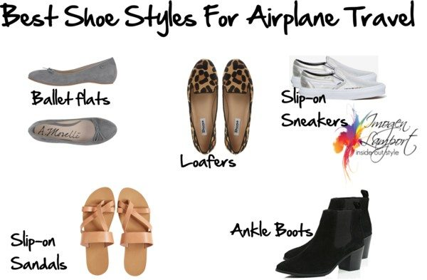 best shoe styles for airplane travel