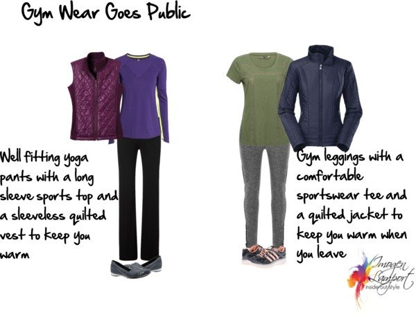 Gym wear goes public