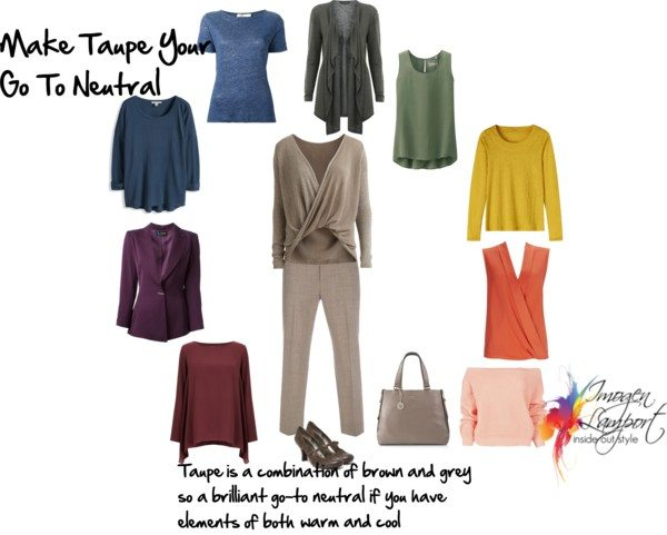 make taupe your neutral