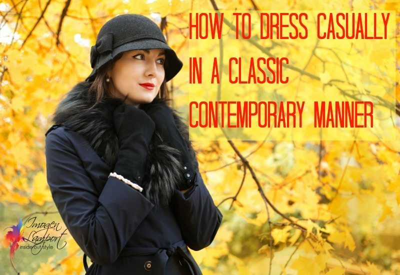 classic contemporary casual clothing