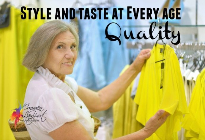 Style and taste at every age - quality indicators