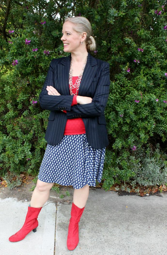 Smart Business dress code wearing a suit blazer