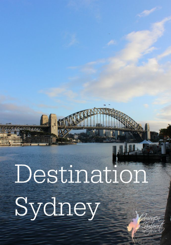 Sydney Australia - a great place fora  holiday any time of year