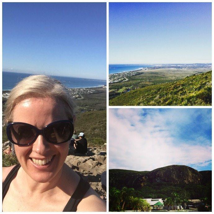 On top of Mount Coolum in Queensland