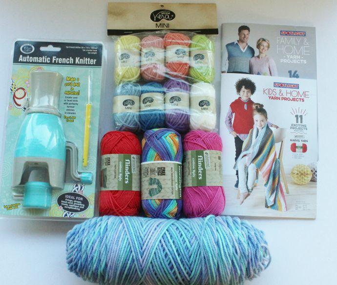 Spotlight yarn
